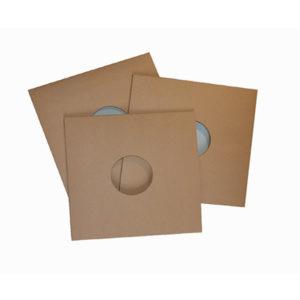 10″ Cover Cardboard Brown