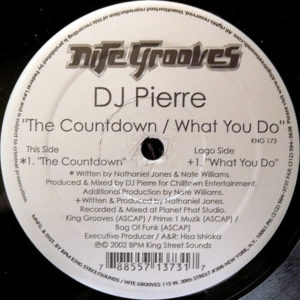 DJ PIERRE – The Countdown/What You Do