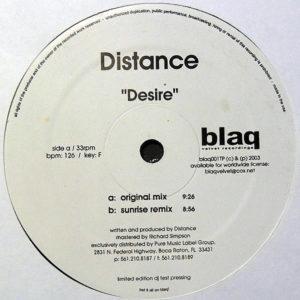 DISTANCE - Desire