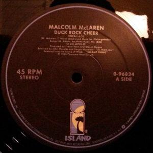 MALCOM McLAREN - Duck Rock Cheer