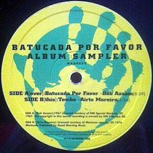 VARIOUS - Batucada Por Favor Album Sampler