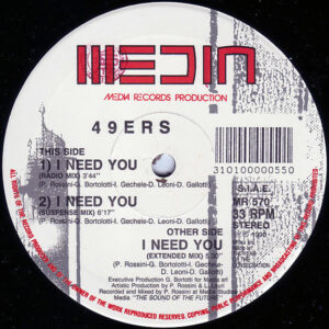 49ers – I Need You