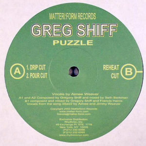 GREGORY SHIFF - Puzzle