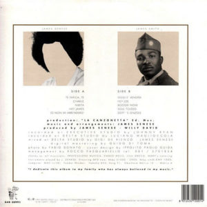 JAMES SENESE – Hey James