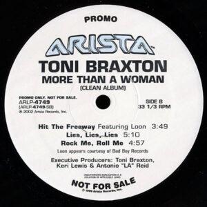 TONI BRAXTON – More Than A Woman Clean Album