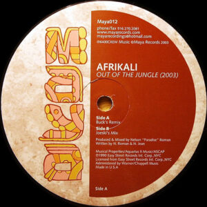 AFRIKALI – Out Of The Jungle 2003