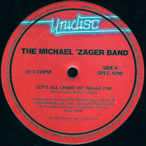THE MICHAEL ZAGER BAND / LIME - Let's All Chant/Angel Eyes