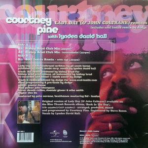 COURTNEY PINE feat LYNDEN DAVID HALL – Lady Day