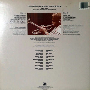 DIZZY GILLESPIE – Closer To The Source