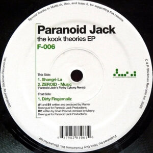 PARANOID JACK – The Kook Theories EP
