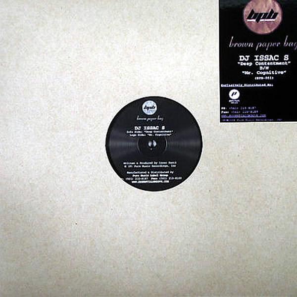 DJ ISAAC S - Deep Contentment/Mr Cognitive