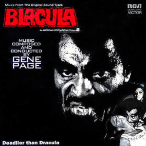 GENE PAGE – Blacula O.S.T.