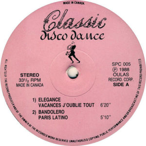 VARIOUS - Classic Disco Dance 5