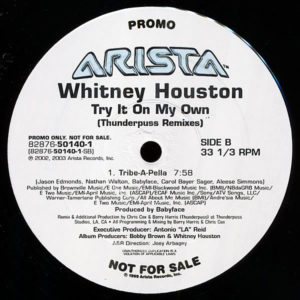 WHITNEY HOUSTON – Try It On My Own