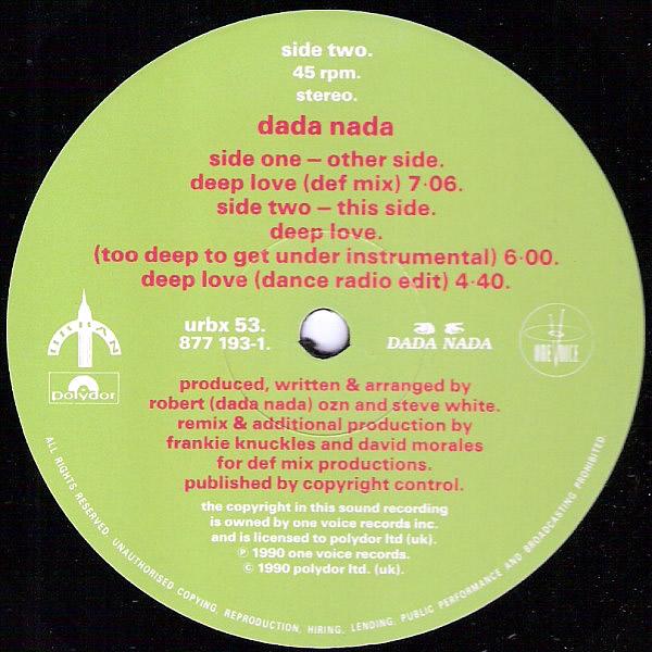 DADA NADA - Deep Love