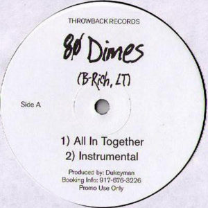 B-Rich ‎– All In Together/It's On