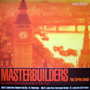 MASTERBUILDERS feat CORRINA JOSEPH - London Town