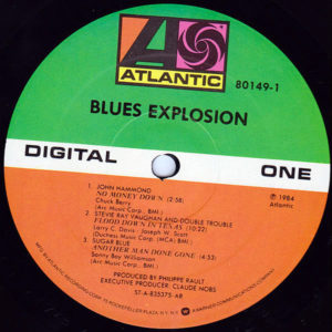 VARIOUS – Blues Explosion