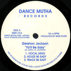 GERSHON JACKSON – Ya'll Be Easy