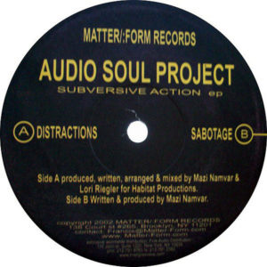 AUDIO SOUL PROJECT – Subversive Action EP