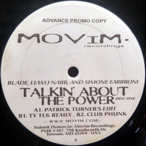 BLADE, LIAM J NABB & SIMONE FABBRONI – Talkin' About The Power Disc 1