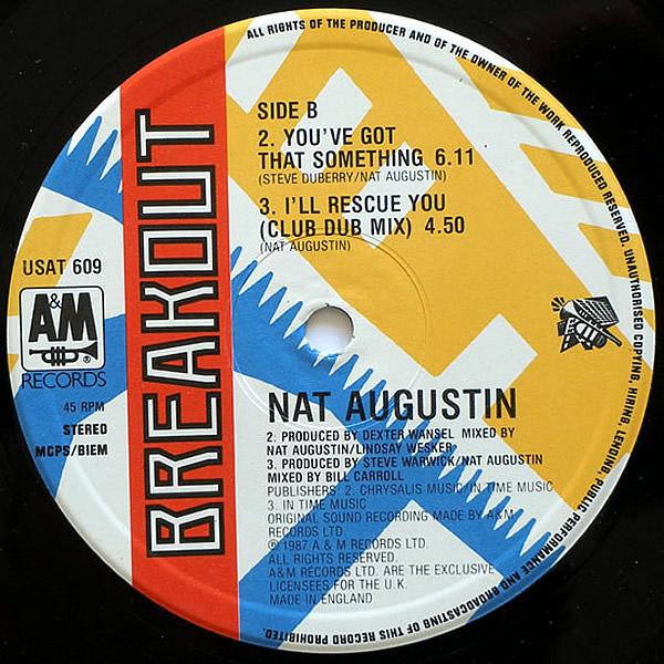 NAT AUGUSTIN - That Girl