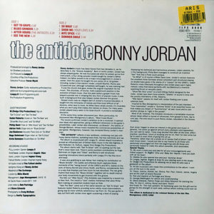 RONNY JORDAN – The Antidote