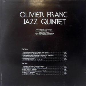 OLIVIER FRANC JAZZ QUINTET – Olivier Franc Jazz Quintet