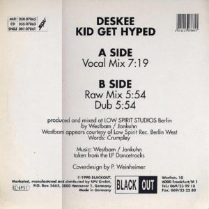 DESKEE – Kid Get Hyped