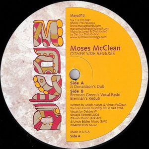 MOSES McLEAN - The Other Side Remixes