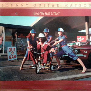 """JOHNNY """"GUITAR"""" WATSON - What The Hell Is This?"""