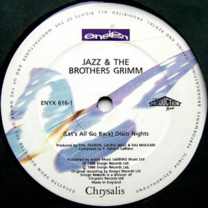 JAZZ & THE BROTHERS GRIMM – ( Let's All Go Back ) Disco Nights