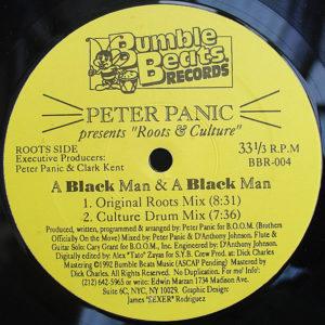 PETER PANIC – A Black Man & A Black Man