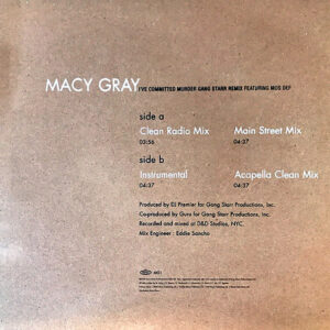 MACY GRAY feat MOS DEF – I've Committed Murder Gang Starr Remix