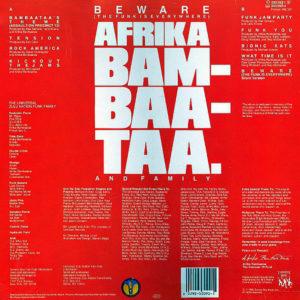 AFRIKA BAMBAATAA and FAMILY – Beware The Funk Is Everywhere