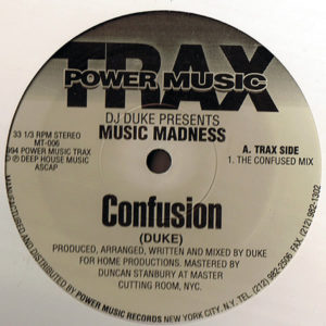 DJ DUKE presents MUSIC MADNESS – Confusion