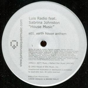 LUIS RADIO feat SABRINA JOHNSTON - House Music