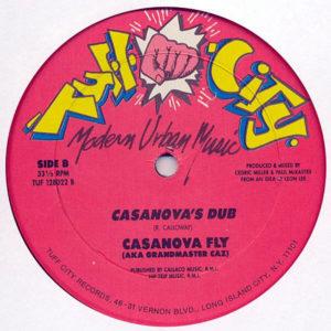 CASANOVA FLY aka GRANDMASTER CAZ – Casanova's Rap