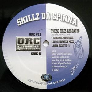 SKILLZ DA SPINNA – The 50 Files Reloaded