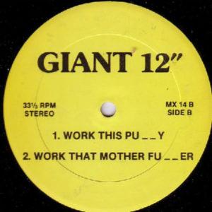 KC FLIGHTT / STEVE POINDEXTER – Let's Get Jazzy/Work This Pussy/Work That Mother Fucker