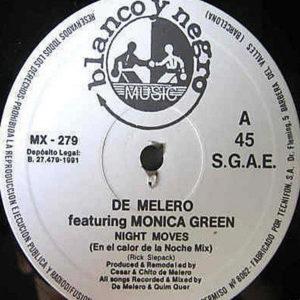 DE MELERO feat MONICA GREEN – Night Moves