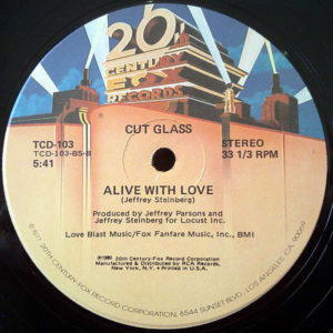 CUT GLASS – Alive With Love