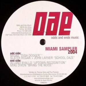 VARIOUS - Miami Music Sampler 2004