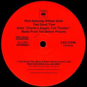 PINK feat WILLIAM ORBIT – Feel Good Time