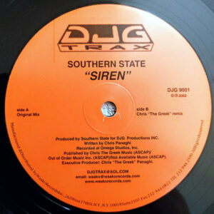 SOUTHERN STATE – Siren