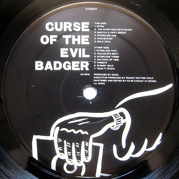 EGON - Curse Of The Evil Badger