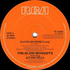 THE BLOW MONKEYS feat SYLVIA TELLA – Slaves No More