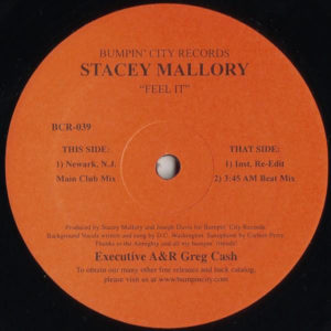 STACEY MALLORY – Feel It