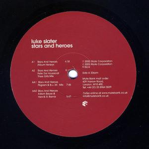 LUKE SLATER – Stars And Heroes