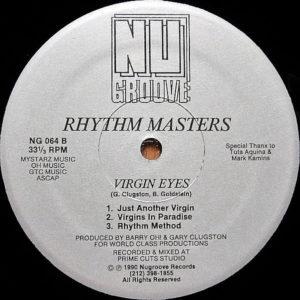 RHYTHM MASTERS – Virgin Eyes